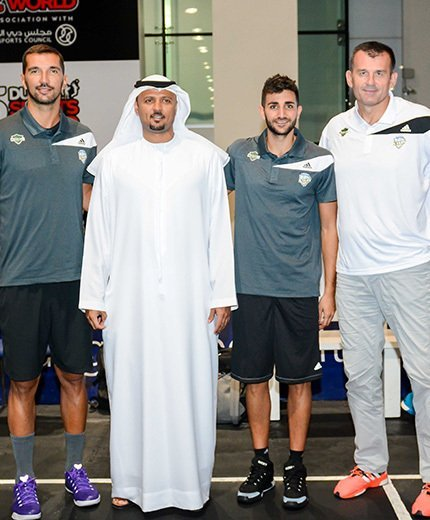 """Dubai Sports World"" to host Stojakovic and Rubio"