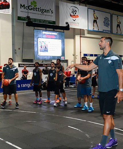 Rubio and Stojakovic in Dubai to teach youth