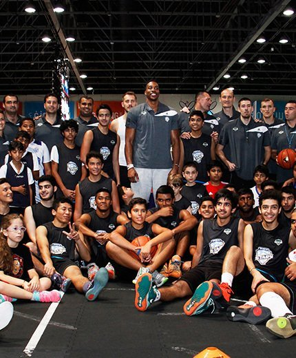 Summer camp gallery with Dwight Howard